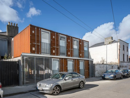 Container House Ringsend Dublin Lid Art Research
